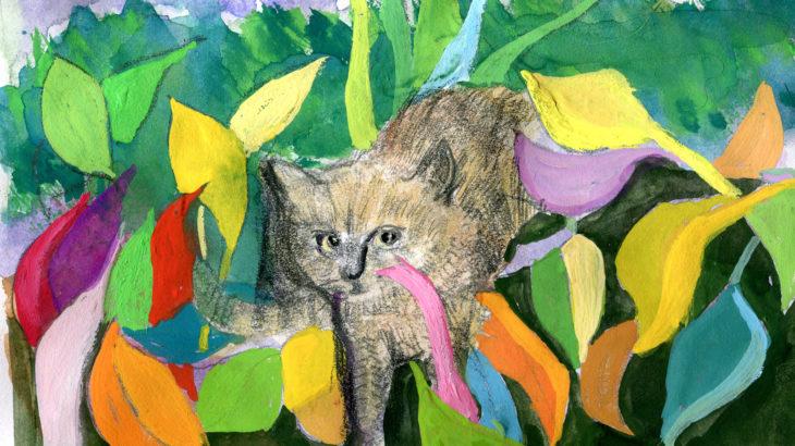 絵本半島の猫21話