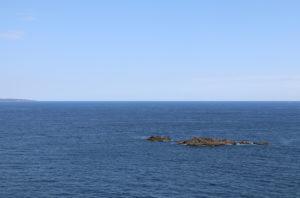 樫野埼灯台からの景色