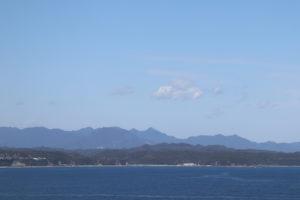 樫野埼灯台から眺める串本町の景色